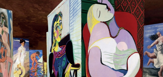 Picasso and spanish masters